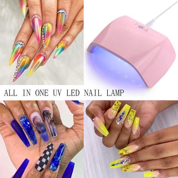Exemples 18W LED UV Makartt