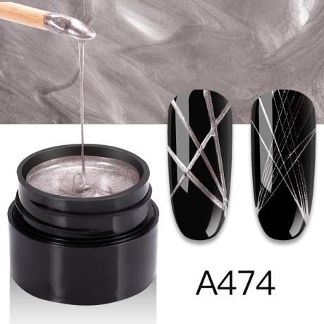 Gel Spider Metal A474