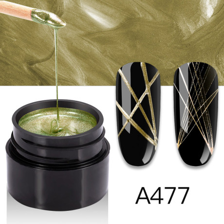 Gel Spider Metal A477
