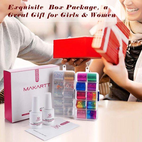 Kit Nail Art Decoration Ciel Étoilé Gift Box