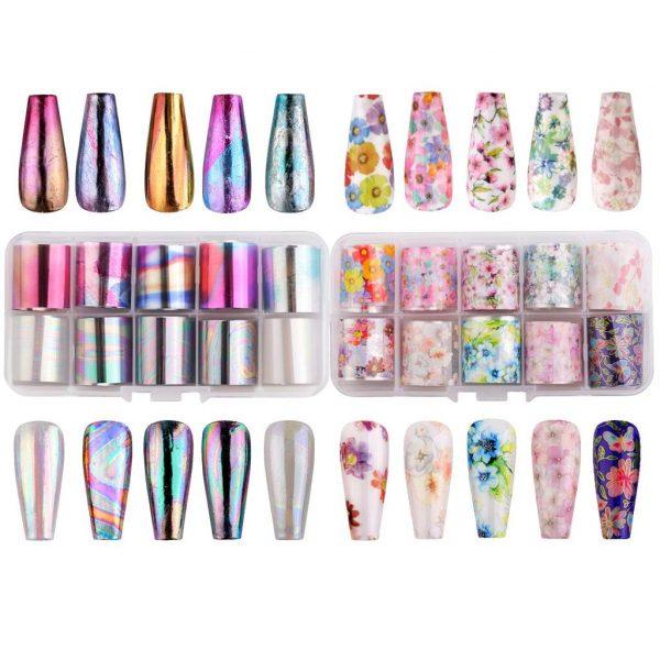 Kit Nail Art Decoration Florale Liste