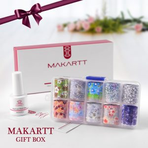 Set Autocollants Fleuris Gift Box