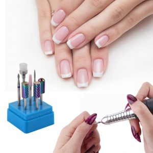 Set Embouts Manucure Carbure Tungstene Exemple