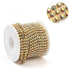 Rouleau Strass Gold