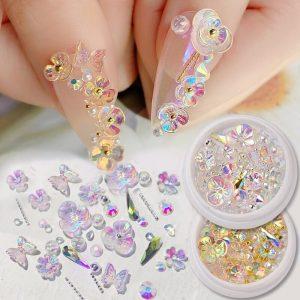 Strass Nivet Fleurs Perles