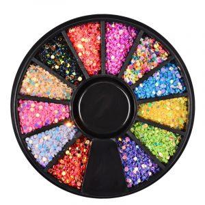 Strass de forme ronds Multicolores